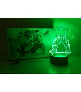 Lámpara Hulk