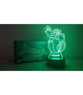 Lámpara Sirenita Ariel