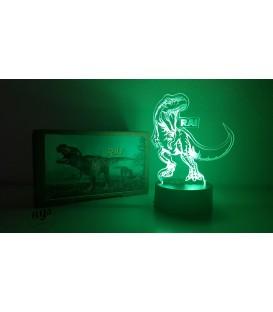 Lámpara Dinosaurio T-Rex