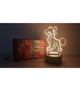 Lámpara Simba Rey León