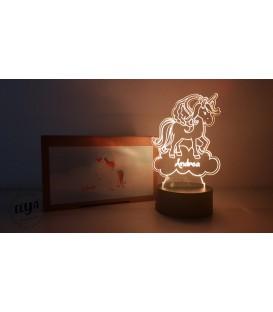 Lámpara Unicornio Nube