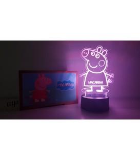 Lámpara Peppa Pig