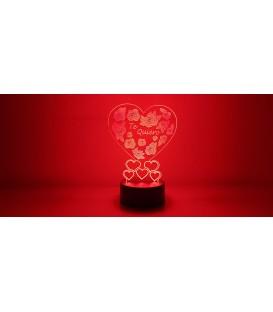Lámpara Te Quiero