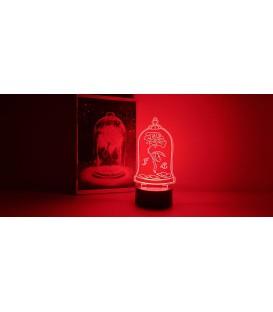 Lámpara Cúpula Rosa