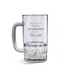 """Jarra de cerveza """"Papá Google"""""""