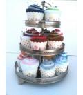Cup Cake Alfileteros toalla