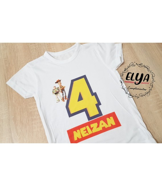 Camiseta niño cumpleaños