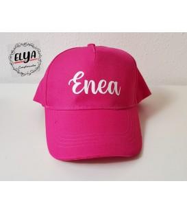 Gorra ROSA  + nombre
