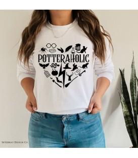 "Sudadera ""Potteraholic"""