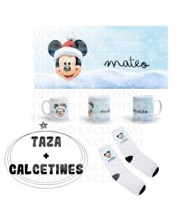 Taza +calcetin ELYA