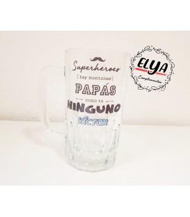 Jarra de cerveza papá