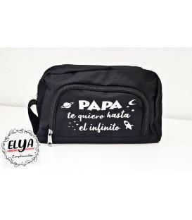 """Neceser Papá """"Te quiero hasta el infinito"""""""