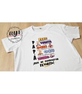 Camiseta Papa Supersayan