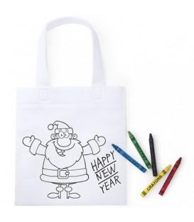 Bolsa infantil Papá Noel
